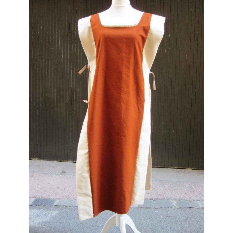 Surcot tablier en coton épais