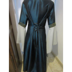 Robe en taffetas et brocard vénitien