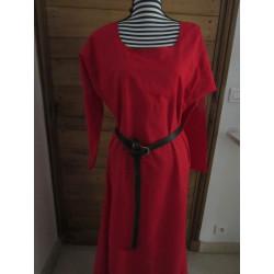 Robe XIIIeme siècle simple en lin