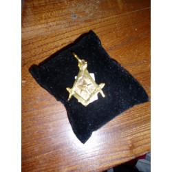 Médaillon maçonnique bronze (petit)