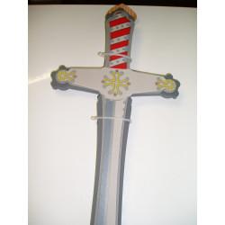 """épée en mousse """"croix occitane"""""""