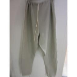 "Pantalon type ""thorsberg"" en lin avec cordon de serrage"