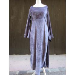 Robe ou sur-robe en velours léger extensible