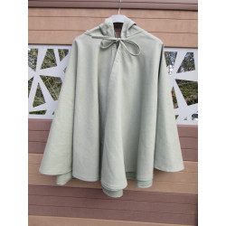 chaperon ou cape courte en coton ou polycoton