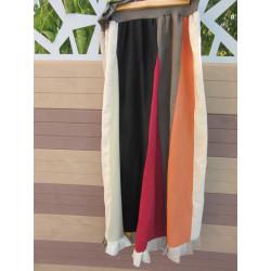 jupe multicolore adulte