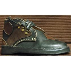 Chaussure Baldr noir et marron