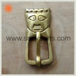Boucle Tête de Roi en bronze