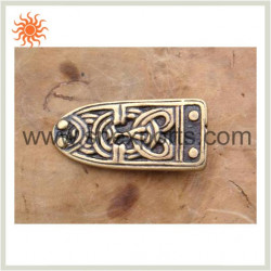 Ornement de ceinture viking en bronze