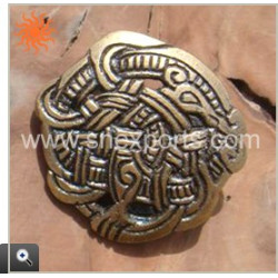 Broche Viking en bronze